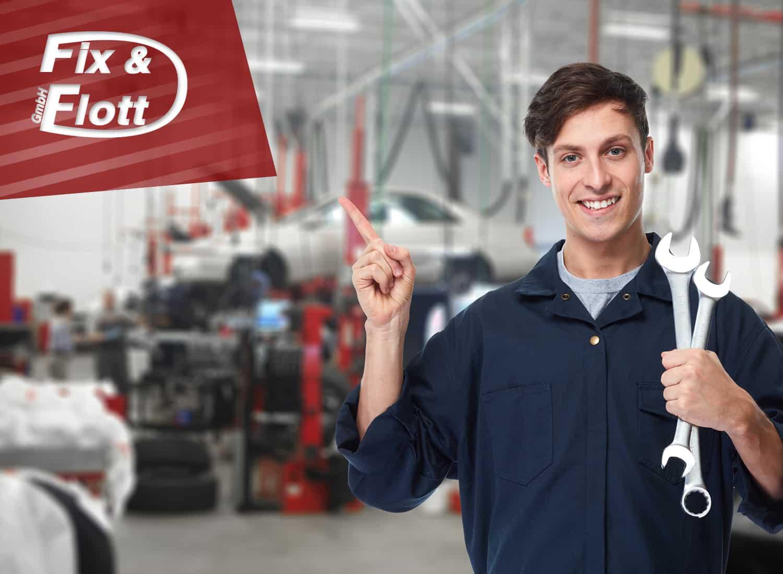 Ausbildung Fix & Flott LKW & Auto Werkstatt aus Bochum