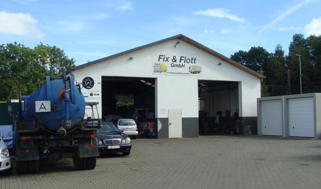 Fix & Flott - Leistungsübersicht der LKW & Auto-Werkstatt aus Bochum Hamme